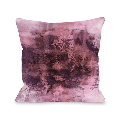 Dana Epoch by Julia Di Sano Throw Pillow Size: 18 H x18 W x 3 D, Color: Fuchsia