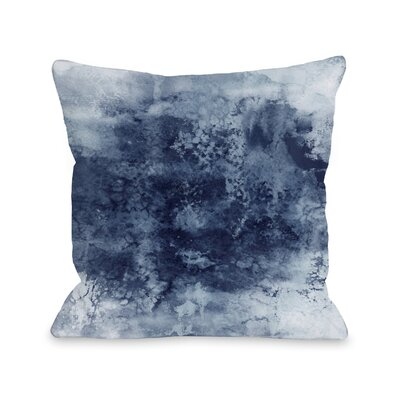 Dana Epoch by Julia Di Sano Throw Pillow Size: 18 H x18 W x 3 D, Color: Gray