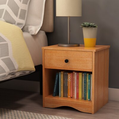 Gerardo 1 Drawer Nightstand