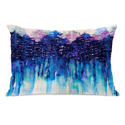Kailee Lumbar Pillow Color: Blue