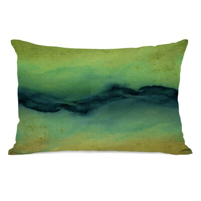 Rayna Golden Lumbar Pillow Color: Yellow/Teal
