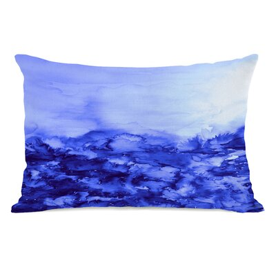 Carlee Indigo Lumbar Pillow Color: Blue