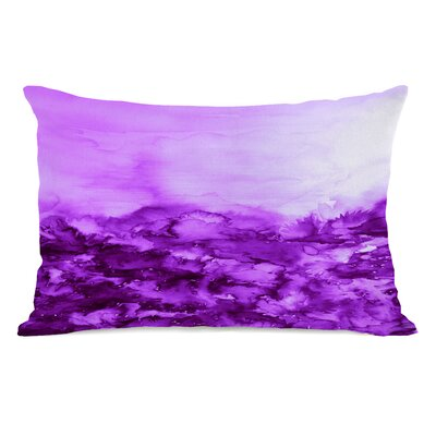 Carlee Indigo Lumbar Pillow Color: Purple