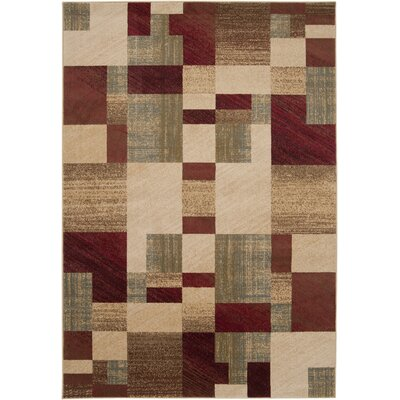 Douglasland Caramel Area Rug Rug Size: Rectangle 53 x 76