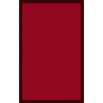 Ayleen Cherry Area Rug Rug Size: Rectangle 33 x 53