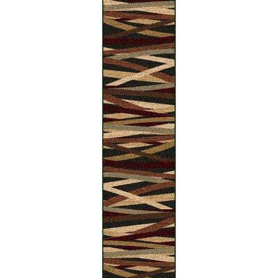 Douglasland Charcoal Area Rug Rug Size: Runner 2 x 75