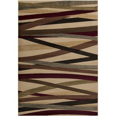 Douglasland Beige Rug Rug Size: Rectangle 53 x 76