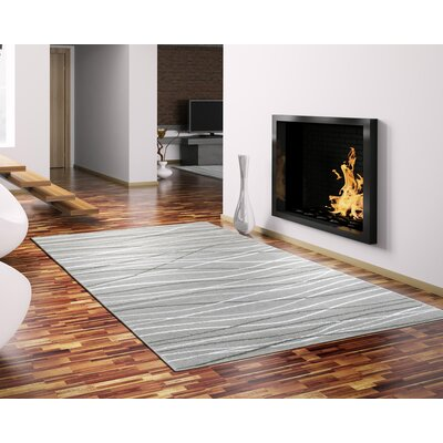 Penelope Pearl Area Rug Rug Size: 36 x 56