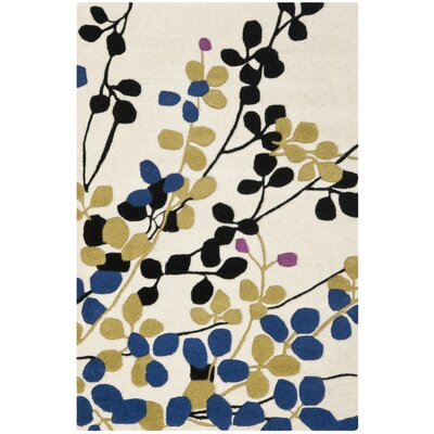 Chidi Ivory Rug Rug Size: Rectangle 26 x 4