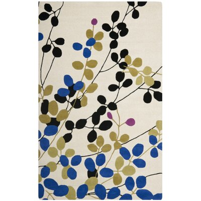 Chidi Ivory Rug Rug Size: Rectangle 36 x 56