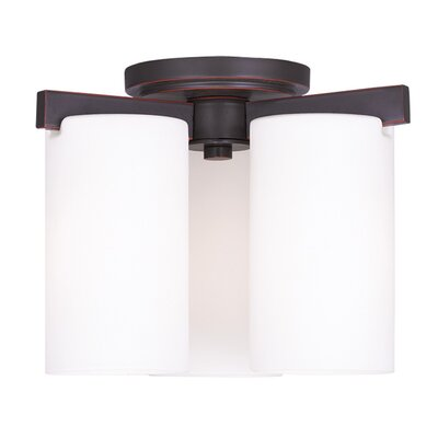 Addilyn Semi Flush Mount Finish: Old Bronze