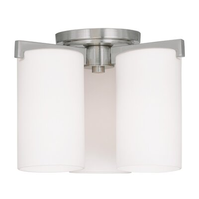 Addilyn Semi Flush Mount Finish: Brushed Nickel