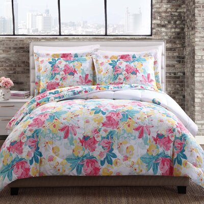 Mariyah Reversible Comforter Set Size: Full/Queen