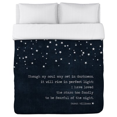 Kiana Fearful of the Night Duvet Cover Size: Twin