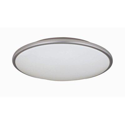 Milania 3.75 2-Light Flush Mount Size: 3.75 H x 17 D