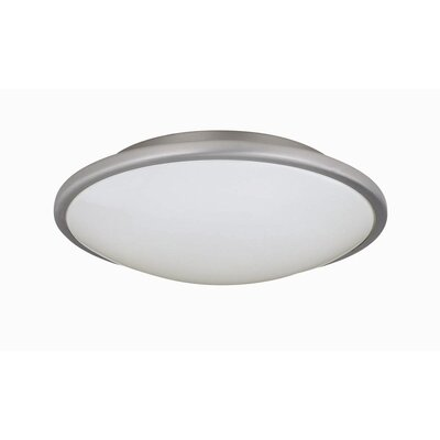 Milania 3.75 2-Light Flush Mount Size: 3.75 H x 13 D