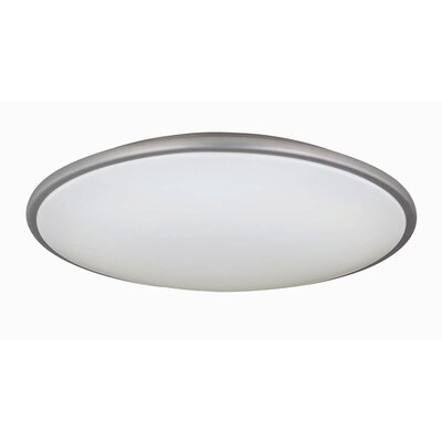Milania 3.75 2-Light Flush Mount Size: 3.75 H x 21 D
