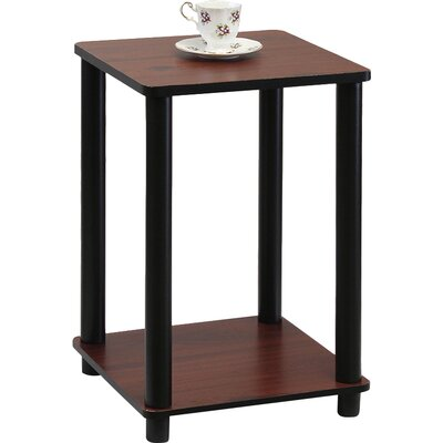 Alison End Table Finish: Dark Cherry
