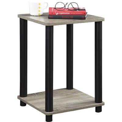 Alison End Table Color: Grey