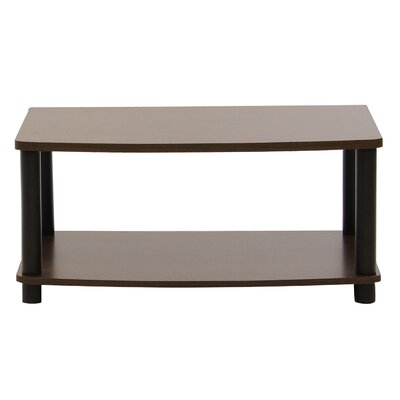 Christa 24 TV Stand Color: Dark Brown / Black