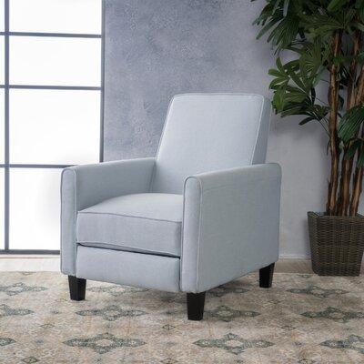 Sandra Club Recliner Upholstery: Light Sky