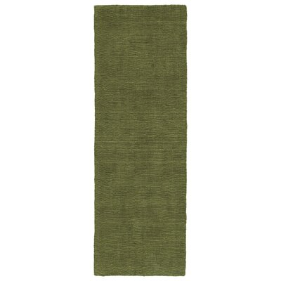 Allibert Hand-Loomed Fern Indoor/Outdoor Area Rug Rug Size: Runner 2 x 6