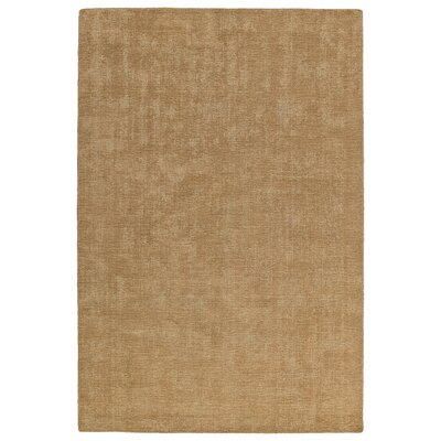 Allibert Hand-Loomed Sand Indoor/Outdoor Area Rug Rug Size: Rectangle 5 x 76