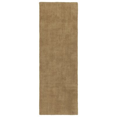 Allibert Hand-Loomed Sand Indoor/Outdoor Area Rug Rug Size: Runner 2 x 6