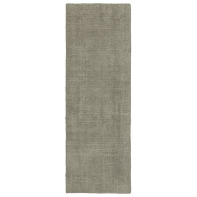 Allibert Hand-Loomed Graphite Indoor/Outdoor Area Rug Rug Size: Runner 2 x 6