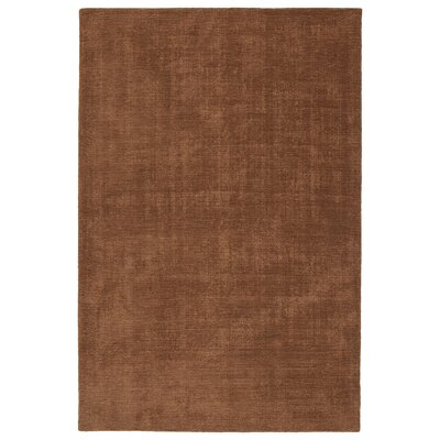 Doutzen Hand-Loomed Light Brown Indoor/Outdoor Area Rug Rug Size: 36 x 56