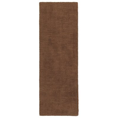 Taliyah Hand-Loomed Light Brown Indoor/Outdoor Area Rug Rug Size: Runner 2' x 6'