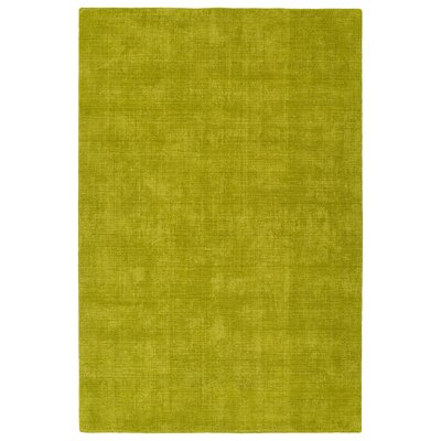 Allibert Hand-Loomed Lime Green Indoor/Outdoor Area Rug Rug Size: Rectangle 5 x 76