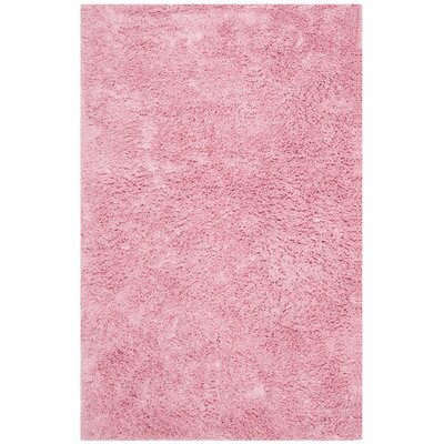 Cody Hand-Loomed Pink Kids Rug Rug Size: Rectangle 5 x 8