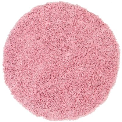 Cody Hand-Loomed Pink Kids Rug Rug Size: Round 4