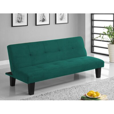 Colin Convertible Sofa Finish: Green