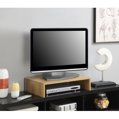 Ivanna TV Stand Finish: Light Oak