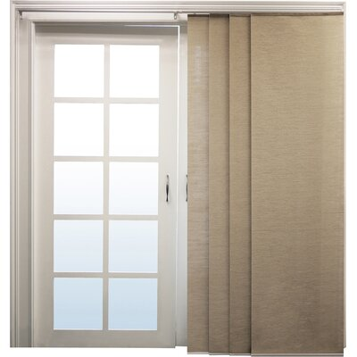 Sliding Panel Vertical Blind Color: Nevada Timberwolf