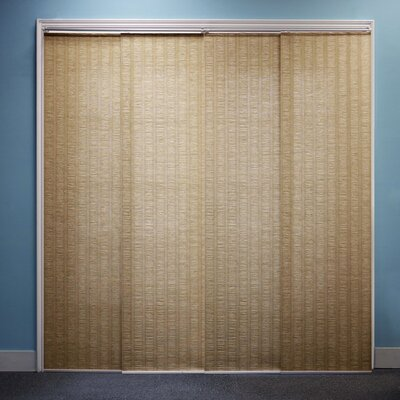 Sliding Panel Vertical Blind Color: Provence Maple