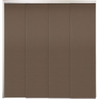 Sliding Panel Vertical Blind Color: Mountain Chocolate