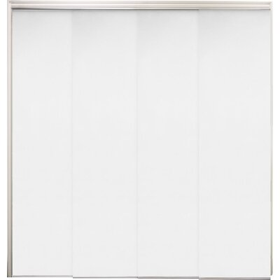 Sliding Panel Vertical Blind Color: Mountain Snow