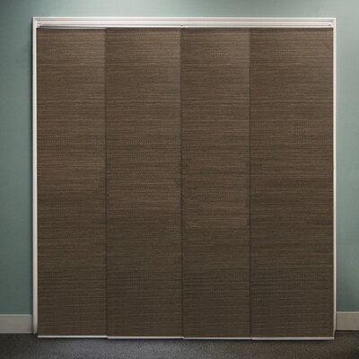 Sliding Panel Vertical Blind Color: French Oolong