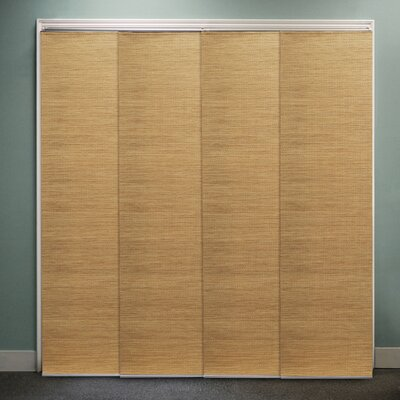 Sliding Panel Vertical Blind Color: French Sandalwood