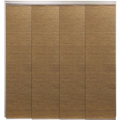 Sliding Panel Vertical Blind Color: Lattice Latte