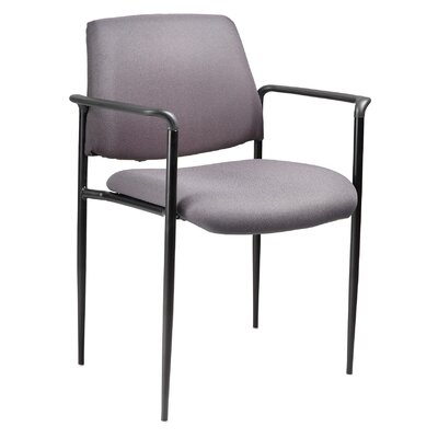 Stackable Guest Chair Seat Finish: Grey Fabric