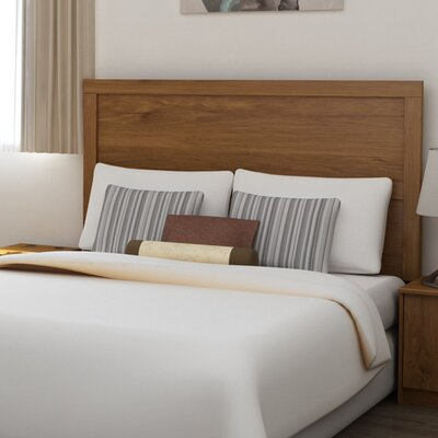 Karis Full/Queen Panel Headboard Color: Bank Alder