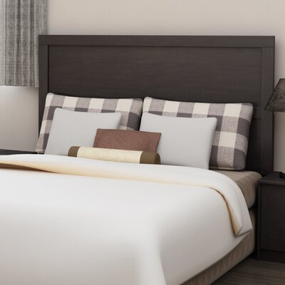 Karis Full/Queen Panel Headboard Color: Espresso