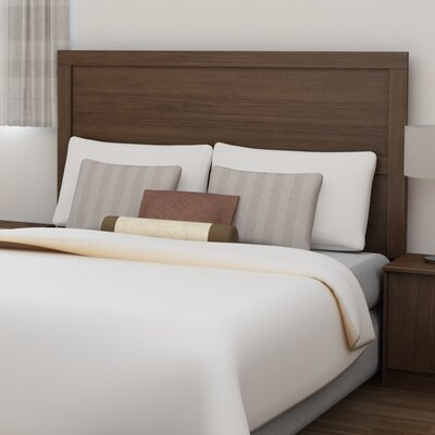 Karis Full/Queen Panel Headboard Color: Torino Walnut