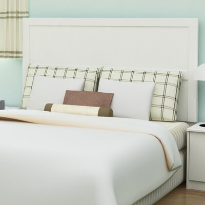 Karis Full/Queen Panel Headboard Color: White