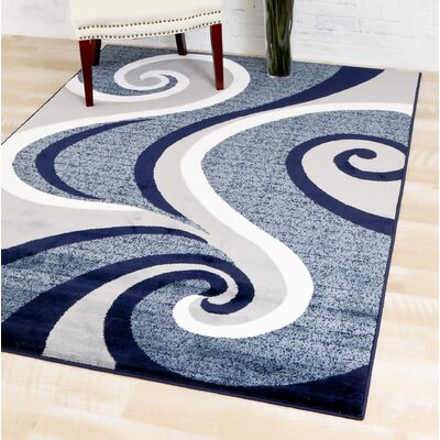 Kylah Abstract Area Rug Rug Size: Rectangle 52 x 72