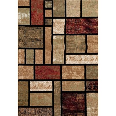 Emmaline Modern Beige Area Rug Rug Size: Rectangle 2 x 3